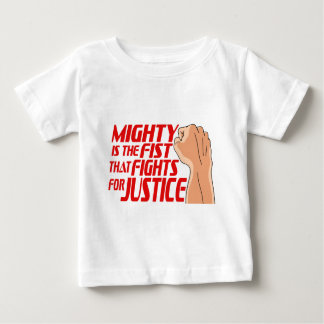 Mighty Fist Baby T-Shirt