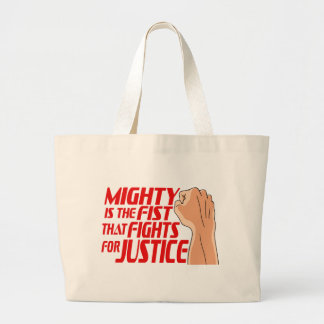 Mighty Fist Large Tote Bag