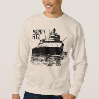 """MIGHTY FITZ"" ~ Edmund Fitzgerald Pull Over Sweatshirts"