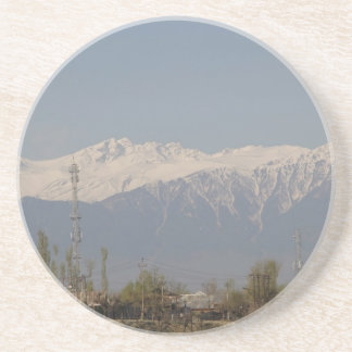 Mighty Himalayas and Icy Peaks Beverage Coasters