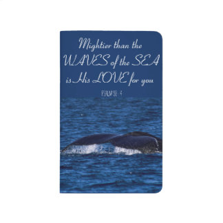 """""""Mighty is His Love"""" Ocean-Themed Journal"""