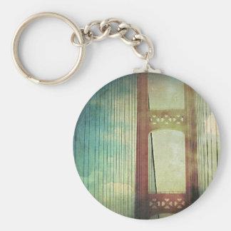 Mighty Mackinac Bridge Michigan Keychain
