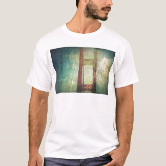 Mighty Mackinac Bridge Michigan T-Shirt