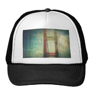 Mighty Mackinac Bridge Michigan Trucker Hat