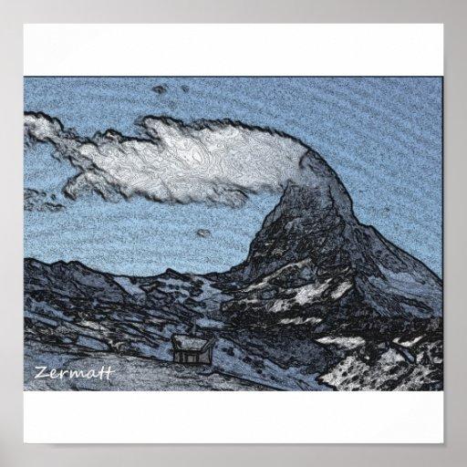 Mighty Matterhorn Poster