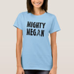 Mighty Megan blue top