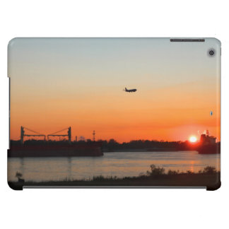 Mighty Mississippi River at Sunset Case For iPad Air
