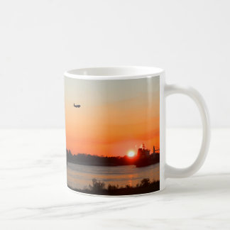 Mighty Mississippi River at Sunset Coffee Mug