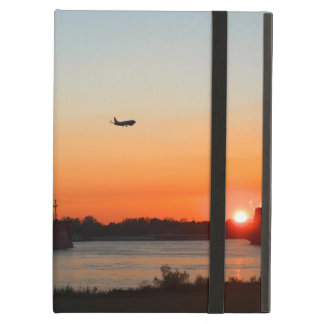 Mighty Mississippi River at Sunset iPad Air Cover