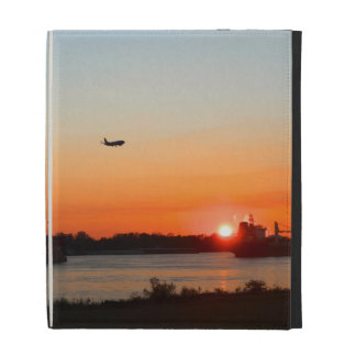 Mighty Mississippi River at Sunset iPad Cases