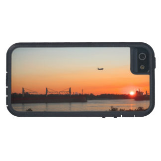 Mighty Mississippi River at Sunset iPhone SE/5/5s Case