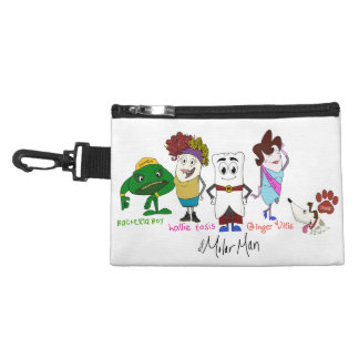 Mighty MolarMan and Friends accessory bag
