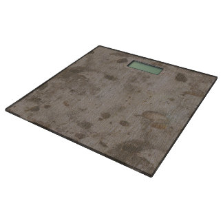 Mighty Mole Faux Marble-Texture Bathroom Scale