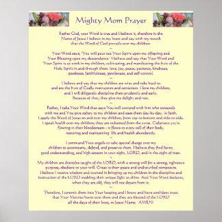 Mighty Mom Prayer Posters