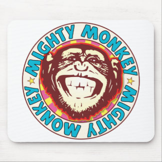 Mighty Monkey Mouse Pad