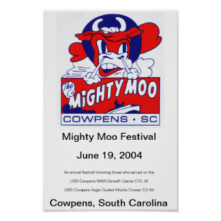 Mighty Moo Festival 2004 Poster