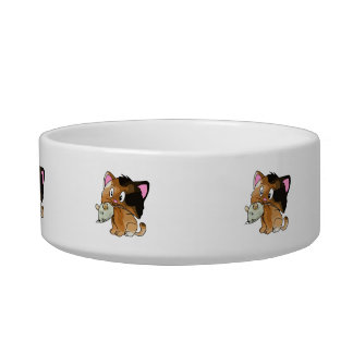 Mighty Mouse Catcher Cat Bowl