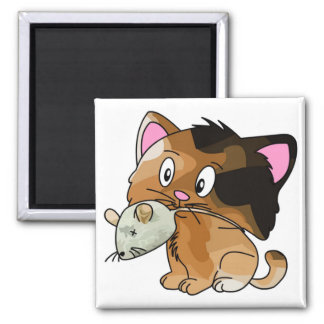 Mighty Mouse Catcher Magnet