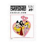 Mighty Mouse in Love Stamps