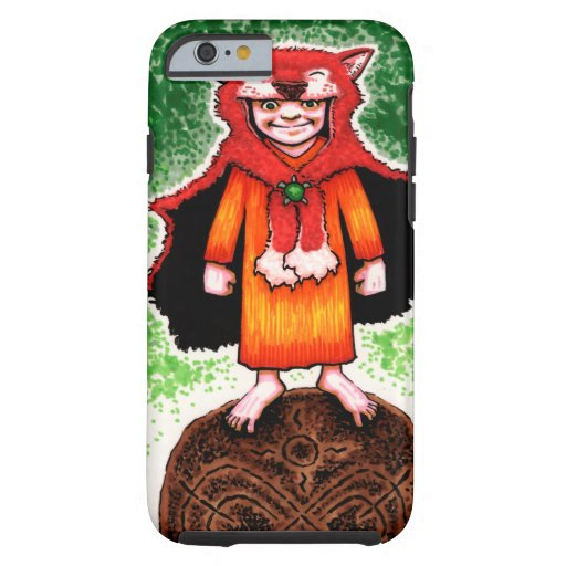 Mighty Nizz Little Red Wild Child Tough iPhone 6 Case