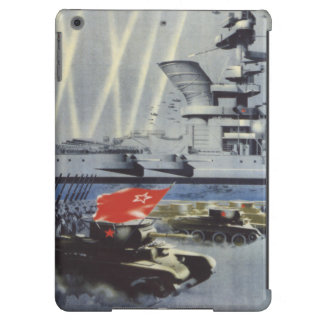 Mighty Red Army iPad Air Cover