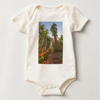 Mighty Sequoia Baby Bodysuit