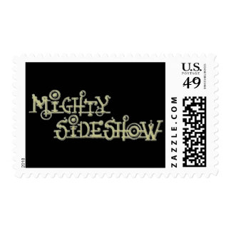 Mighty Sideshow Postage Stamps