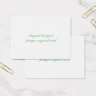 mighty standard matte business card
