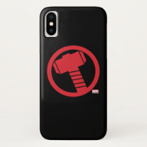 Mighty Thor Logo iPhone X Case