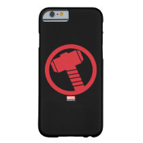 Mighty Thor Logo Barely There iPhone 6 Case