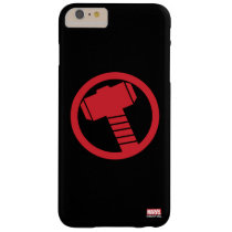 Mighty Thor Logo Barely There iPhone 6 Plus Case