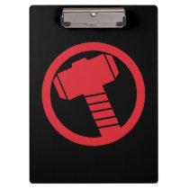 Mighty Thor Logo Clipboard