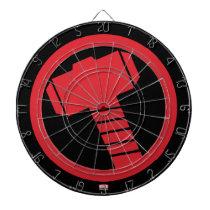Mighty Thor Logo Dartboard