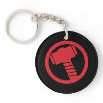 Mighty Thor Logo Keychain