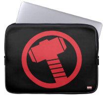 Mighty Thor Logo Laptop Sleeve