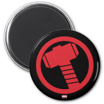 Mighty Thor Logo Magnet