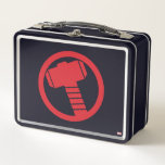 "Mighty Thor Logo Metal Lunch Box<br><div class=""desc"">Thor 