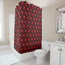 Mighty Thor Logo Shower Curtain