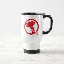Mighty Thor Logo Travel Mug