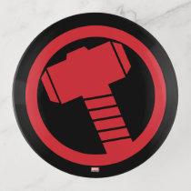 Mighty Thor Logo Trinket Trays