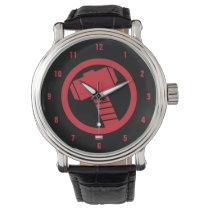 Mighty Thor Logo Wristwatch
