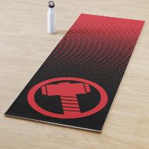 Mighty Thor Logo Yoga Mat