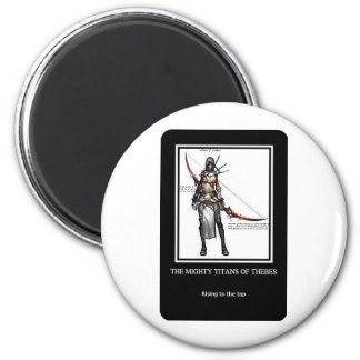 Mighty Titans of Thebes Magnet
