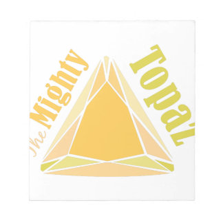 Mighty Topaz Memo Note Pads