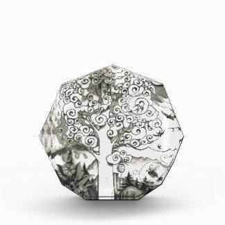 MIGHTY TREE Page 2 Acrylic Award