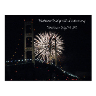 MightyMac_05 Mackinaw Bridge 50th Anniversary Post Cards