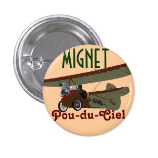 Mignet Pou-du-Ciel KRS Pin Redondo De 1 Pulgada
