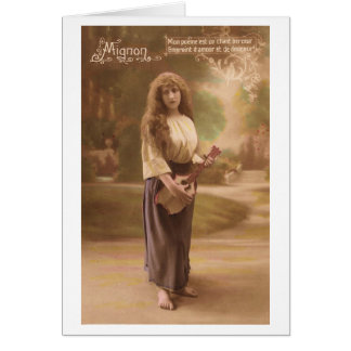 Mignon - French Opera Greeting Cards