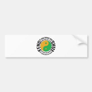 Migos Feng Shui Bumper Sticker