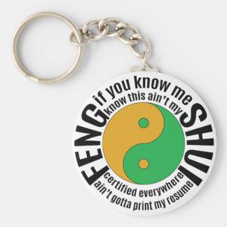 Migos Feng Shui Llavero Redondo Tipo Pin